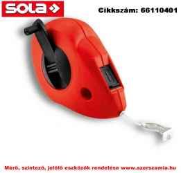 Kicsapózsinór - Magas minőségű műanyag ház CLK 30 30 m zsinórral SOLA