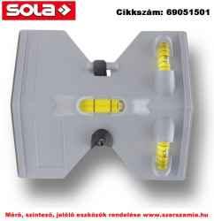 Függeszthető-vízmérték JP műanyagból SOLA