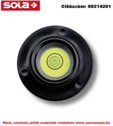 Gömblibella 30 mm DF 30 zöld libellafolyadékkal SOLA