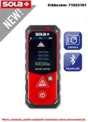 Lézeres távolságmérő VECTOR 100 PRO Övtáskával SOLA