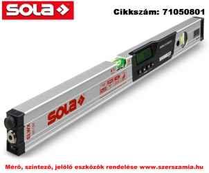 Elektronikus lézeres vízmérték Lasertronic ELWX 60 dőlésmérővel és lézerrel SOLA
