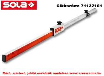Flexi léc FL MÉRÖLÉC gömblibellával / kihúzható 240 cm-ig SOLA