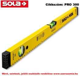Alu-vízmérték SM Profi 180 sárga SOLA