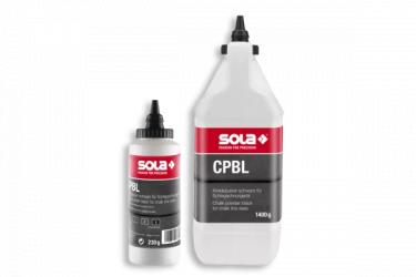 Kréta por CPBL 1400 fekete, 1400 g flakonban SOLA