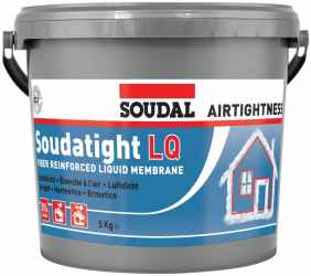 SOUDATIGHT LQ BLACK tető fal 5kg