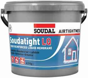 SOUDATIGHT LQ BLACK tető fal 4,5kg