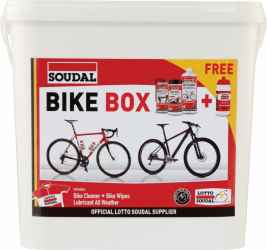CR Kerékpáros doboz Szett:sampon+PTFE+kendők+kulacs
