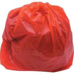 Szemeteszsák piros 46 x 74 x 100cm 100db/csomag