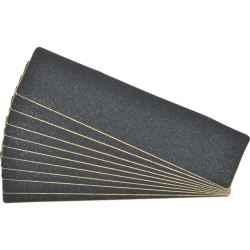 Csúszásgátló lapok érdes fekete 610x150 mm 10db/csomag