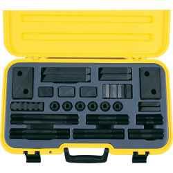 T-hornyos leszorító készlet M10 x 12mm (58 db-os) TK10