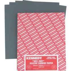 Csiszolópapír ívek nedves/száraz P800 230 x 280mm 50db/csomag KENNEDY