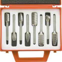 Turbómaró készlet forgácstörő fogazással 8 db-os
