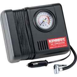 Légkompresszor/nyomásmérőmini 12V
