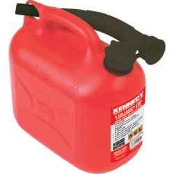 Kanna ólmozott üzemanyaghoz 5 l-es piros