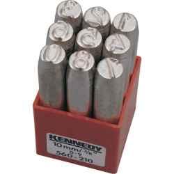 Számbeütő készlet (9 részes) 1.5mm 71mm