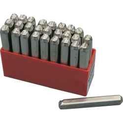 Betűbeütő készlet törékeny anyagokhoz (27 db-os) 3,0mm