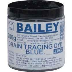 Szennyvíz színjelölő festék kék 200g