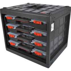 Szerviz tároló doboz 4 db-os 425 x 350 x 375mm
