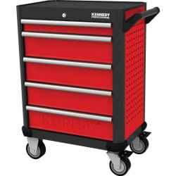 5 fiókos profi görgős szerszámos szekrény piros 710,0mmx465,0mmx845,0mm