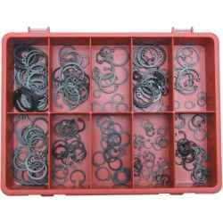 Seeger-gyűrűk belső/külső készletben