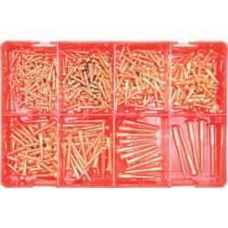 Félgömb fejű facsavar készlet (375 darabos)