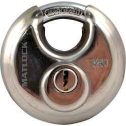 Koronglakat rozsdamentes acélból azonos kulcsokkal 70 mm