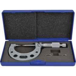 Mikrométer 30 fokos kúpos merőcsappal 0-25mm