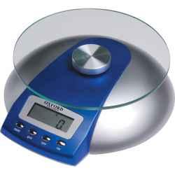 Üveglapos digitális platform mérleg 5kg 160 mm LCS03