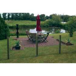 Műanyag kerti kerítés 1 x 10m