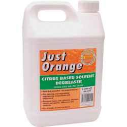 Citrus alapú oldószeres zsírtalanító Just orange 5l