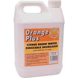 Orange plus citrus alapú vízzel lemosható zsírtalanító 5l