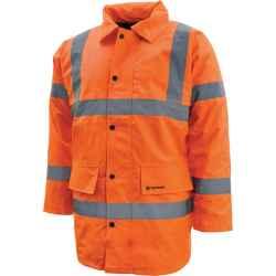 Jól láthatósági kabát en471 narancs M