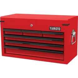 6 fiókos szerszámos láda piros 660,0mmx310,0mmx380,0mm