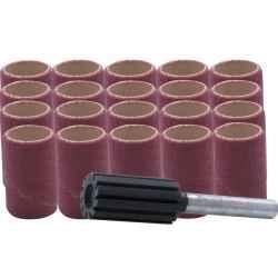 Csiszológyűrű készlet (21 darabos) 15 x 30mm