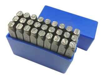 Betűbeütő készlet angol ABC 27r. 5,0mm
