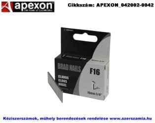 APEXON tűzőgépszeg 10x2,1x1,1mm 2000db F10/2M
