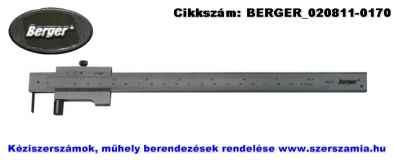 BERGER párhuzam előrajzoló tolómérő 200/0,1mm