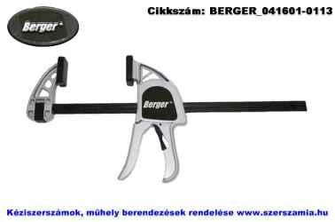 BERGER egykezes párhuzamszorító alumínium 600mm LL-24A