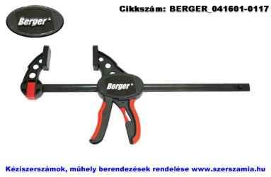 BERGER egykezes párhuzamszorító üvegszálas 150mm LL-6PT