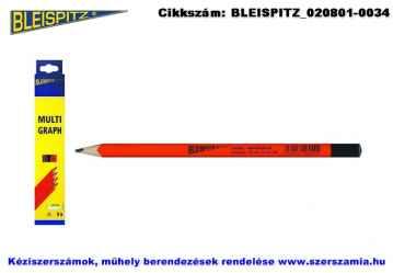 BLEISPITZ Multigraph jelölőceruza 240mm 7B 9db No.0396