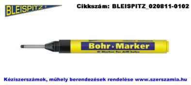 BLEISPITZ furatközpont jelölőfilc fekete hegy: d3,0x25mm No.0587
