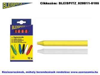 BLEISPITZ jelölő kréta sárga 12db No.0150