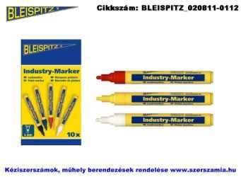 BLEISPITZ festékes, ipari jelölőfilc d4,0mm piros 10db No.0488