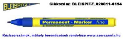 BLEISPITZ jelölőfilc d1,0mm kék 10db No.0778