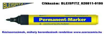 BLEISPITZ jelölőfilc d1,0mm fekete 10db No.0679