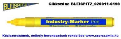 BLEISPITZ festékes, ipari jelölőfilc d1,0-2,0mm sárga 10db No.0952