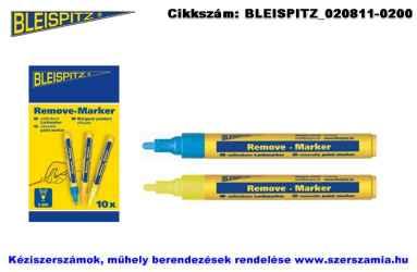 BLEISPITZ festékes, letörölhető jelölőfilc d4,0mm kék 10db No.1041