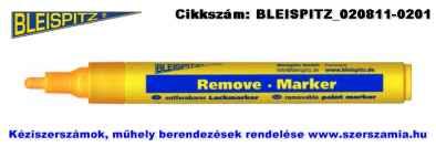 BLEISPITZ festékes, letörölhető jelölőfilc d4,0mm sárga 10db No.1065