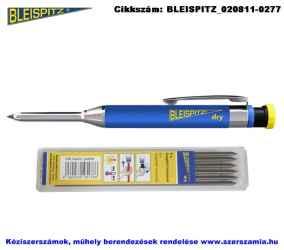 BLEISPITZ DRY mélyfurat jelölő készlet töltőceruza plusz 6 betét No.1362