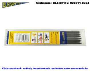 BLEISPITZ mélyfurat jelölőhöz töltőbetét grafit-univerzális 6db No.1386